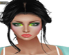 MAKE  UP BRILLANT GREEN