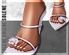 s. Fur Baby Heels White