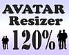 Avatar Resizer 120%