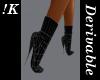 !K! Stiletto Boots3 Mesh