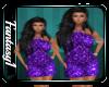 Flower Purple Dress