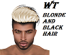 WT/BLONDE/BLACK HAIR