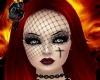 Goth Rose Veil