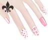 pink nails|IRIS