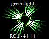 Green dj light