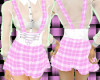 Thin school uni pink