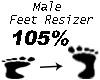 Feet Resizer 105%