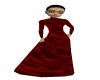 Red Glass Gothic Gown