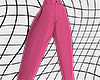 pink suit trousers