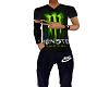 'J' Monster Energy Tee