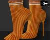 Df. Booties Sock Orange