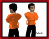 Orange Straight Jacket M