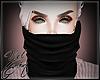 [Yel] black scarf