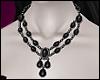 \/ Onyx Necklace