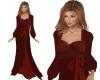 TF* 2 piece Wine Gown