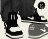 *CA* Creme n Black Nikez