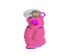 space suit pink