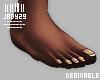 <J> Drv Flat Bare Feet