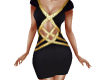 TF* Black & Gold Dress