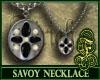 Savoy Necklace Black