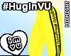 #HugInVU Pants Yellow V1