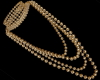 ֎ Gold Pearls Necklacce