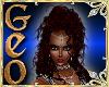 Geo Doro Red silver
