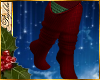 I~Red Elf Socks