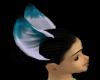 Lt. blue &white ears
