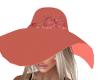Cherish Apricot Hat