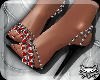 ! Gems Pumps RedBlackSlv