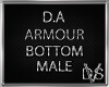 D.A Armour Bottom (Male)