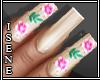*I* Lila nails