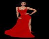 Seductive Ruby Gown