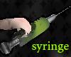 [M.D] syringe