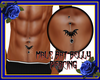 Bat Belly Piercing Male