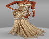 Glamourous Gold Gown