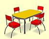 Table Rétro 60's III