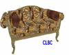 CLBC  brown pattern sofa