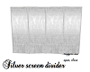 Silver screen divider