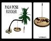 Palm pose rocker