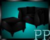 Black Lace Arm Chair