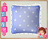 !✿ Kids Blue Pillow *