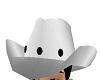 silver cowboy hat