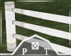 White Barn Fence