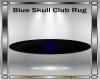 Blue Skull Club Rug