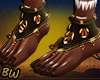 African Tribal Feets - S