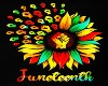 Juneteenth Flower Fist