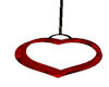 red passioon heart swing