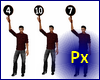 Px Paddle by vote 1-10